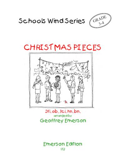 CHRISTMAS PIECES (score & parts)