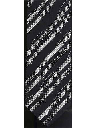SILK TIE Sheet Music (Black)