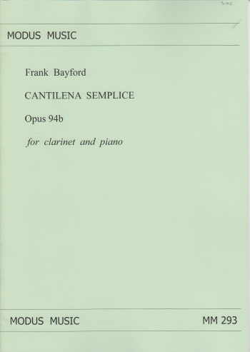 CANTILENA SEMPLICE Op.94b