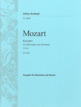 CONCERTO in A major KV622