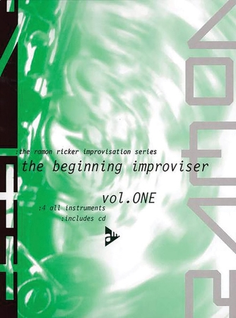 THE BEGINNING IMPROVISER Volume 1 + CD