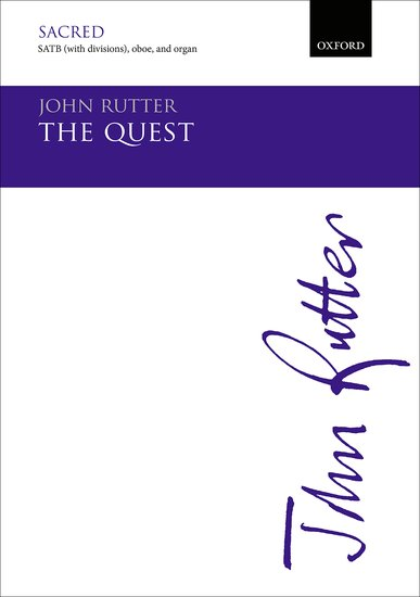 THE QUEST Vocal Score