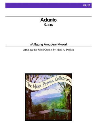 ADAGIO, K. 540