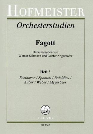 ORCHESTRAL STUDIES 3: Beethoven, Weber