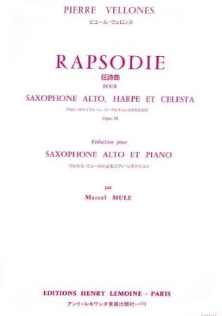 RHAPSODIE Op.92