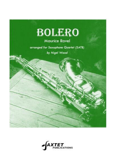 BOLERO (score & parts)