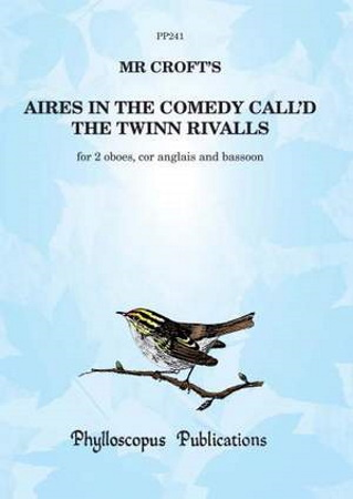 AIRES in the Comedy call'd The Twinn Rivalls