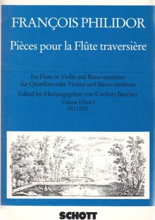 PIECES POUR LA FLUTE Volume 1