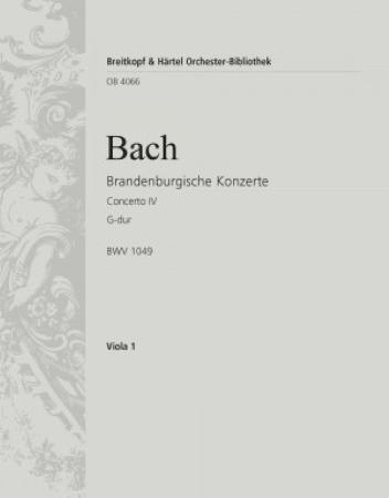BRANDENBURG CONCERTO No.4 viola part