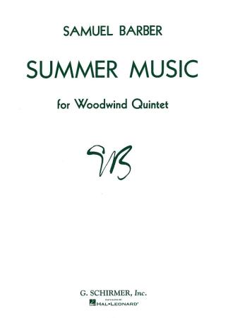 SUMMER MUSIC Op.31 (score & parts)