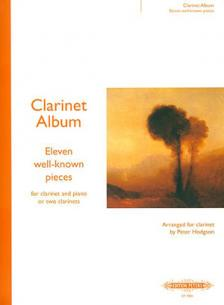 CLARINET ALBUM 11 well-known pieces
