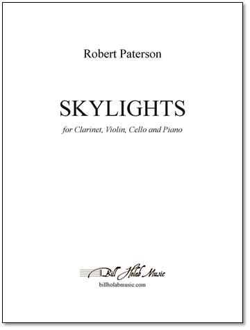 SKYLIGHTS piano score & parts