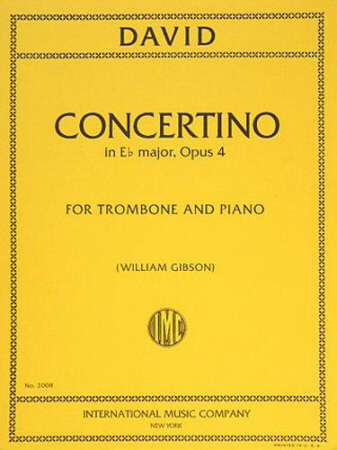 CONCERTINO in Eb major, Op.4 (playing score)