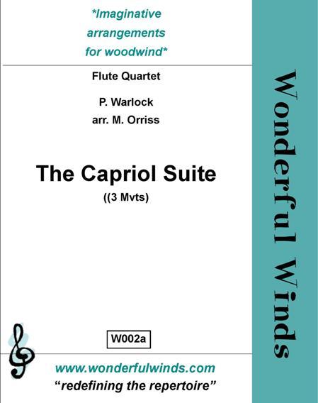 CAPRIOL SUITE (score & parts)