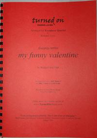 MY FUNNY VALENTINE (score & parts)