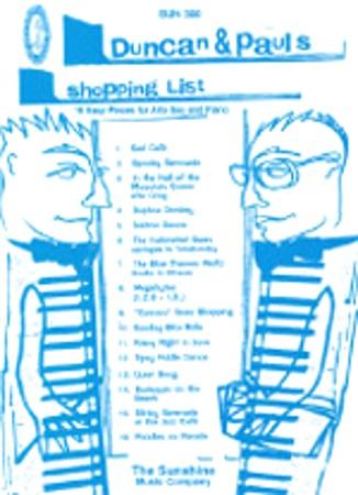 DUNCAN & PAUL'S SHOPPING LIST 16 easy pieces