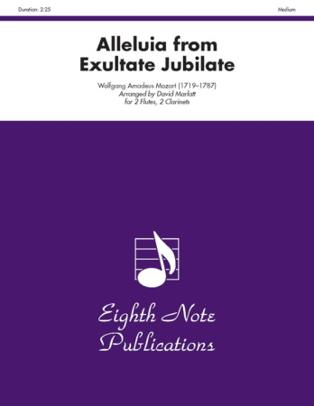 ALLELUIA from Exultate Jubilate
