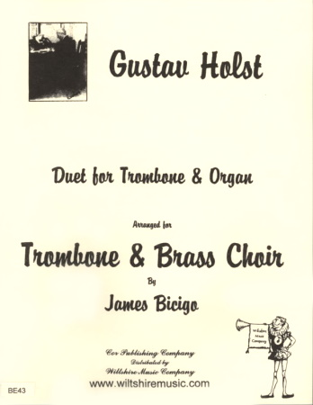DUET for Trombone and Organ