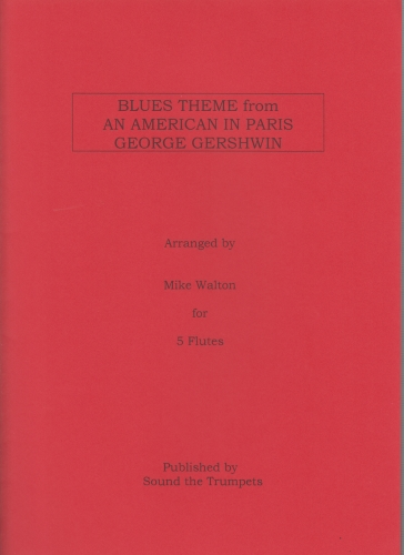 BLUES THEME from An American in Paris (score & parts)