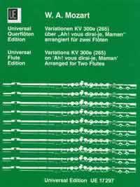 AH! VOUS DIRAI-JE, MAMAN Variations KV 300e (265)