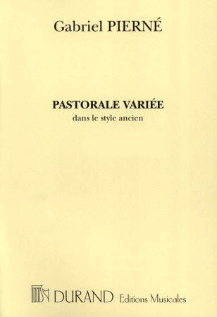 PASTORALE VARIE Op.30 (score & parts)