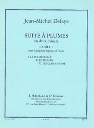 SUITE A PLUMES Book 1