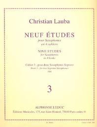 NEUF ETUDES 3