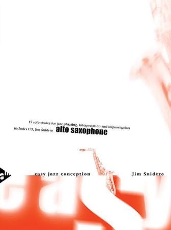 EASY JAZZ CONCEPTION Alto Saxophone + CD