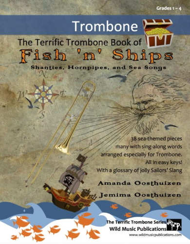 THE TERRIFIC TROMBONE BOOK of Fish 'n' Ships