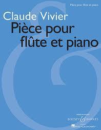 PIECE POUR FLUTE ET PIANO