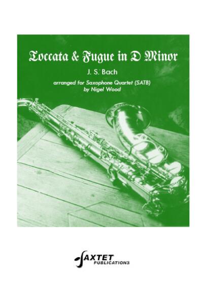 TOCCATA AND FUGUE in D minor (score & parts)