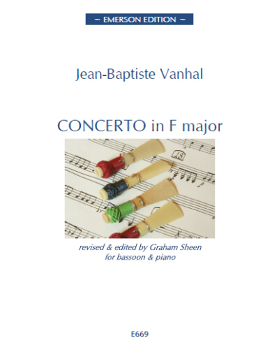 CONCERTO in F major - Digital Edition
