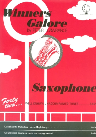 WINNERS GALORE Saxophone Part