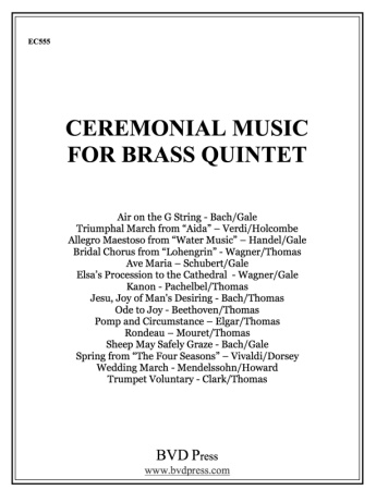 CEREMONIAL MUSIC for Brass Quintet 1st Trumpet