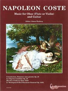 MUSIC FOR OBOE AND GUITAR + CD