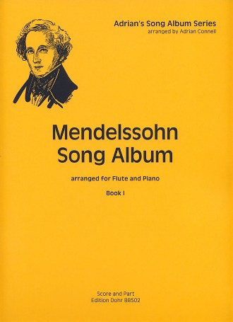 MENDELSSOHN SONG ALBUM Book 1
