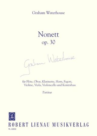 NONETT Op.30 score