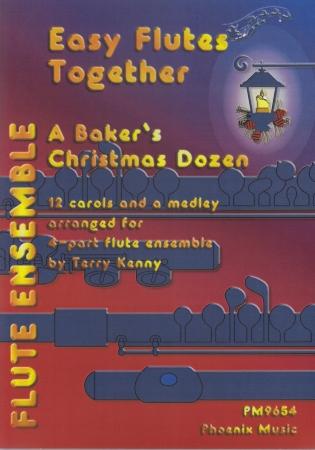 A BAKER'S CHRISTMAS DOZEN (score & parts)