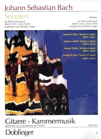 SONATAS BWV 1031,1033-1035