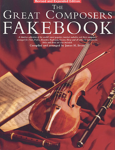 THE GREAT COMPOSERS FAKEBOOK