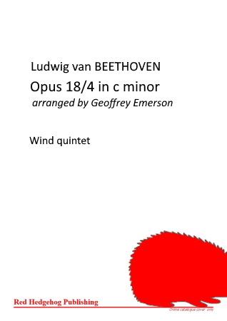 OPUS 18/4 in c minor
