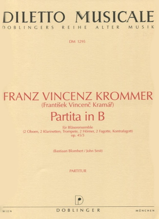 PARTITA in Bb major Op.45 No.3 score