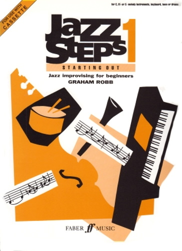 JAZZ STEPS Book 1 book in C/Bb/Eb