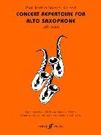 CONCERT REPERTOIRE for Alto Saxophone