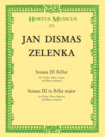 SONATA No.3 in Bb major, ZWV 181