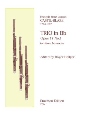 TRIO Op.17 No.1 (set of parts)
