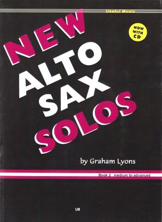 NEW ALTO SAX SOLOS Book 2 + CD