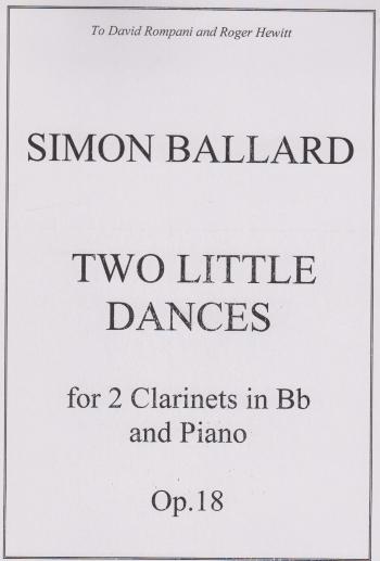 TWO LITTLE DANCES Op.18