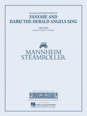 FANFARE AND HARK! THE HERALD ANGELS SING (score & parts)