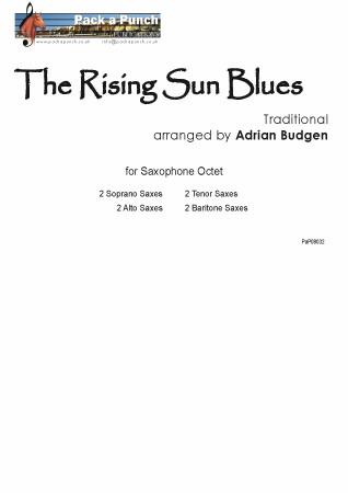 RISING SUN BLUES (score & parts)